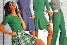 Women's fashion: Seventies / Ideas on what to wear for a seventies themed party