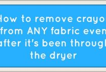 Cleaning Tips for the Lazy / Like I'll really use any of these tips.