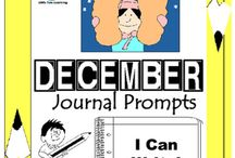 December Writing Prompts Quick Writes / December Writing Prompts Quick Writes. Creative writing prompts for everyday in the month of December. ***************************************************************************** Though your students may not have highly developed writing skills to express their thoughts, they do have bright imaginations filled with all sorts of creative ideas. *****************************************************************************