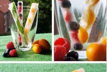 Versieren eten en drinken