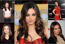 Celebrity Hair Styles / Celebrity Hair Inspiration