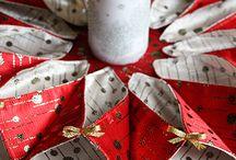 Karácsony textilből