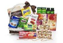 Wellness Hamper / Send your GET WELL wishes and show recognition with our gorgeous wicker handled hamper basket filled with our exclusive healthy delicacies to promote happiness. http://simplyhamper.com/product-category/hampers/wellness-hampers/