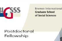 BIGSSS Postdoctoral Fellowship & Other Top Scholarships / BIGSSS Postdoctoral Fellowship for International Applicants in Germany , and applications are submitted till February 15th, 2015. The Bremen International Graduate School of Social Sciences (BIGSSS) is offering postdoctoral fellowship for International students. - See more at: http://www.scholarshipsbar.com/bigsss-postdoctoral-fellowship.html#sthash.AdOiqNV6.dpuf