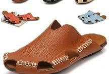 sepatu & sandal kulit