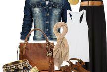 Autumn spring fashion