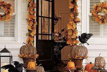 """HALLOWEEN"" / halloween home decor"