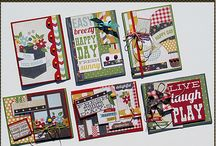 Card Kits / Here we have are pre-cut, pre-designed cards.