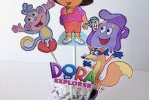 Dora explorer party