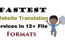 Fastest Website Translation Services in 12+ File Formats