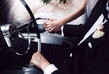 ślubna samochód