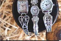 spoon jewelry / by Sandie Reed