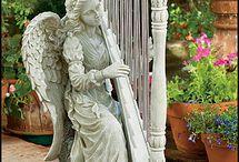 angyal képek, szobrok, figurák - angel pictures, statues, figurines