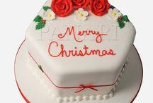 Christmas Cakes by Panari