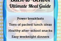 quick meals and snacks