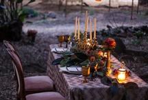 Wedding Inspo / 'Rustic bohemian' inspired wedding theme.