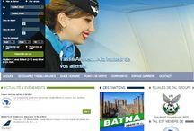 web design / Alcomnet's Web design