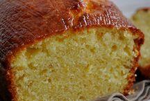 Cake à l'huile et crème fraîche
