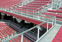 Sports Facilities / Ultra-tec® has been the optimal choice for many sports facilities for a good reason. You can see right through our cable railing to watch any event.