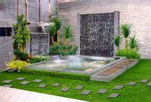 kolam and pool
