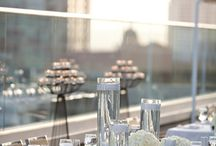 Event Decor: White / A White Christmas in the Sky