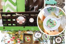 Soldier / Soldier themed birthday party ideas and cakes.