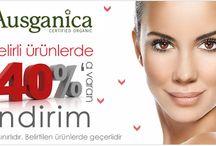 Ausganica / Dermokozmetik, cilt bakım, vücut bakım, krem, maske, serum, şampuan, krem, saç bakım ürünleri, göz çevresi bakımı