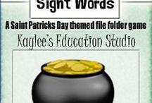 Saint Patricks Day / by Kaylee's Education Studio