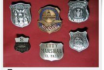 Amerykańskie odznaki - USA badges / Kolekcjonerskie odznaki, Police, Detektyw, Security, Sheriff,