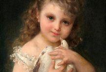 EMILE MUNIER -FRANCIA- PARÍS  1840- 1895 / Nació el 2 de Junio de 1840, en París -Francia. Fue un pintor francés. Se especializó en pintar escenas donde los niños eran sus protagonistas, demostrando mucho talento y una gran sensibilidad y expresividad en sus lienzos.