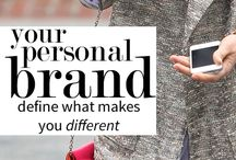 Personal Branding Tips / Develop a personal brand to stand out in business, both in person and on social media sites.