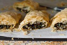 Dinner Fillo Recipes: Pies, Quiches, Pockets, & Strudels