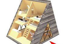 Mountain hut / Idee per rifugio di montagna