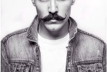 Fathers moustache