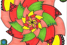 sharpie designs and ideas / by Laurie Treuvey