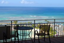 best places I ever stayed on the beach in Hawaii :-) / my beach Hawaii pics