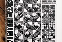 Zentangle inspiration / by Secret Room Designs