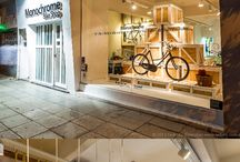 Bikeshops ideas & inspiration / Ideas for decorating a bicycle shop