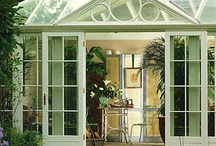 Conservatories, Garden Rooms & Greenhouses / by Christine Hyder