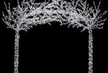 Crystal LED Trees  / New crystal sparkle-lite trees from Autograph Foliages, this tree lighting concept is new and exciting! It will dress up any party, draw attention to advertising, attract people to your event, is eye candy for all! / by Artificial Plants & Trees for Commercial Use