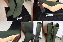 Yeezy Season 2 Dark Green Boots