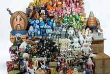 Toy Collections to Die for / Large collections Of toys from all around the world.