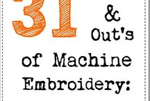 Embroidery - Machine / Machine embroidery designs