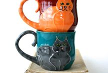 K 024 Keramik Tassen, Teller u. Co.