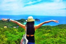 View points in Koh Tao! / Well worth the walk! These are the most precious part of the most spectacular and diverse island!