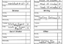 HS Schedule Checklist for Kids / by Alisha Bilderback