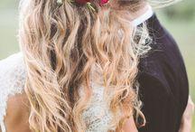 Cabelos e Penteados para Noivas / Os melhores looks e estilos de cabelos e penteados para as noivas, para o dia do seu casamento.