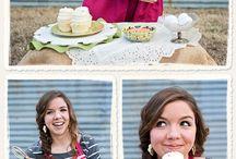 Ideas for S.S. / Senior photo ideas with culinary focus