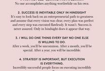 Success / Ways of thinking