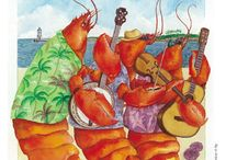 Commemorative Lobster Festival Posters